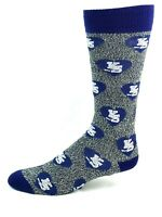 Kansas State Wildcats NCAA Purple and White Blended Repeat Heart Logo Crew Socks