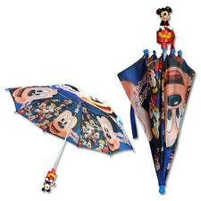 """Umbrella 26"""" Disney Mickey Mouse 3D Handle Blue Boy NEW"""