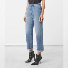 All Saints Nat High Waist Boyfriend Jeans Womens Size 30 NEW