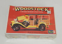 Revell '30 Model A Ford Woody Woodstock 1/25 Scale Model Kit 1974 SEALED R11853