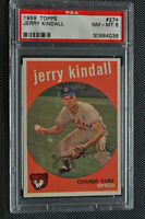 1959 Topps - Jerry Kindall - #274 - PSA 8 - NM-MT