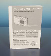 Ricoh Caplio R6 Kamera Anleitung Benutzerhandbuch deutsch - (41270)