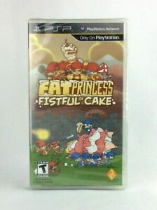 Fat Princess: Fistful of Cake (2010) Brand New Factory Sealed USA Sony PSP