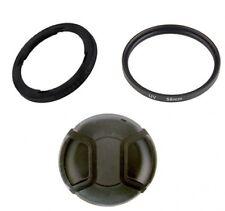 Filter Adapter FA-DC58E 9554B001+ UV Filter + Cap Canon PowerShot G1 X Mark II