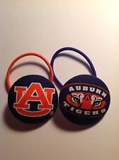 Auburn Tigers Pair Of TWO Ponytail Hair Accessories -  🐅WAR EAGLE 🐅