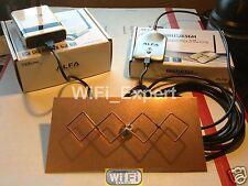 WiFi Antenna  MACH 1N ALFA R36 + G Ad Double Biquad Long Range GET FREE INTERNET