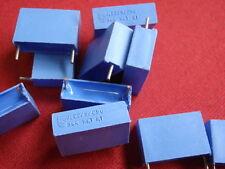 KONDENSATOR PHILIPS 220nF 250V= VERLUSTARM! 18x11x6mm blau        6x    23672