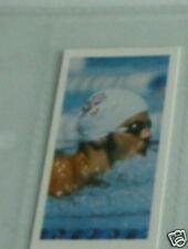 #31 David Wilkie Natación GB-Tarjeta de deporte olímpico