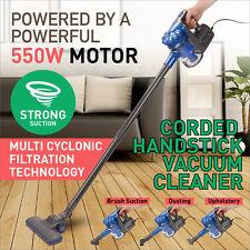 Powerful Vac Handstick Handheld Bagless Stick Vacuum Cleaner Blue