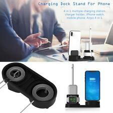 4 in 1 Desktop Charging Dock Stand Wall Charger Holder for iPhone&iWatch pen