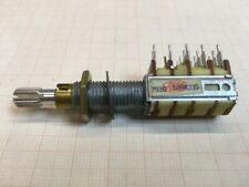 potentiometer quad with switch Alps 293C 539A330 for car stereo