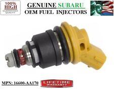 New 1x #16600-AA170 OEM Subaru Fuel Injector (YRS 05-11 Subaru Legacy 2.5L H4)