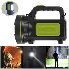 Rechargeable Led Work Light Torch Candle Power Spotlight Hand Lamp Hunting Camp