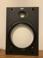 More details for bower wilkins dm602 s2 dm604 speaker upper baffle black b&w genuine bb01376 1