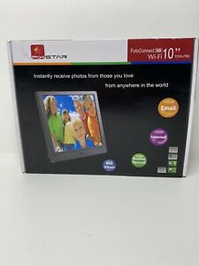 PixStar 10 Inch Wi-fi Cloud Digital Photo Frame FotoConnect XD Email Web More
