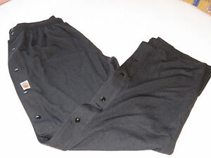 Mens The Rock Basketball pants active disabled nursing home snap up sides XXL