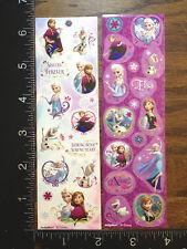 Frozen Anna Elsa Olaf By Disney & Designware, Two Little Sheets Stickers #Froz01