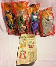 1996 Disney THE HUNCHBACK OF NOTRE DAME Set of 4 Puppets by Mattel in sealed bag
