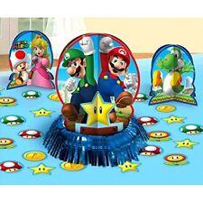 Amscan 281554 Super Mario kits de Decoración para mesa