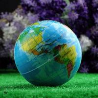 1 Stück Erde Weltkugel Globus Weltkarte weicher Entspannung Schaumstoffball W5Y6