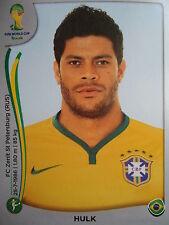 PANINI 49 Hulk Brasil FIFA Coupe du Monde 2014 Brésil