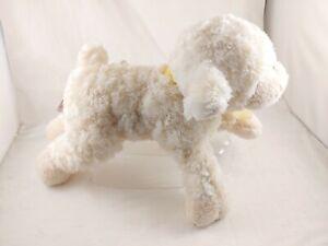 "Mary Meyer Family Christian Lamb Plush Stuffed Animal Jesus Loves Me Musical 17"""