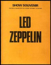 LED ZEPPELIN REPRO 1973 AUTOGRAPHED SIGNED TOUR CONCERT PROGRAMME