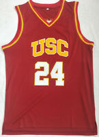 Brian Scalabrine #24 USC Trojans Men's Basketball Jersey Red Double Stitched