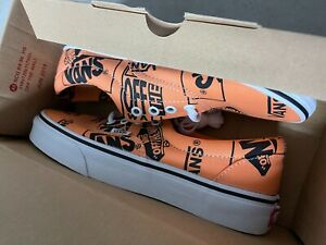NEW Vans Authentic Tangerine Shoes Size 6.0 men  / 7.5 women