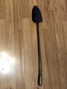 """Heavy Duty Primitive Hand Crafted Gardening Shovel For Display Or Use 24-1/2"""" !"""