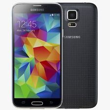 "SAMSUNG GALAXY S5 SM-G900F - 16GB 4G 5.1"" CHARCOAL BLACK UNLOCKED"