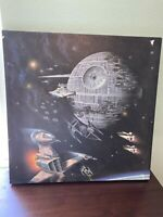 Disney Star Wars Death Star Canvas Painting 18x18