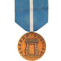 Full Size Medal Korean Service (Made in USA)