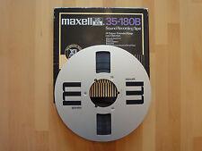 MAXELL UD XL 35-180b Professional nastro ALU NAB-BOBINA 26,5cm, per AKAI REVOX