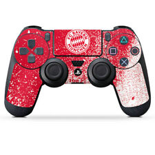 Sony Playstation 4 PS4 Controller Folie Aufkleber Splatter Rot FC Bayern München