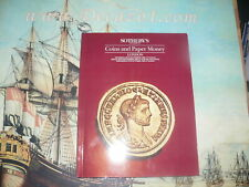 Sotheby's London.1988 Coins and Paper Money. 200 extremely fine Roman Gold coins