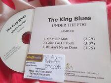The King Blues – Under The Fog  Field Recordings  Promo Sampler UK CD Single