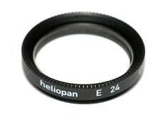 Heliopan UV-Filter E 24mm x 0,5 vergütet Slim - Made in Germany (NEU/OVP)
