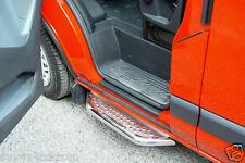 MARCHE-PIEDS X1 INOX POUR  FORD TRANSIT CUSTOM 2013- COTE PASSAGER OU CONDUCTEUR