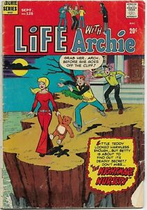 Life With Archie #125 - VG/Fine - The Nightmare Nursery