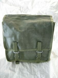 Polish Army Bread Bag Side Satchel Messenger Green Canvas Military Surplus