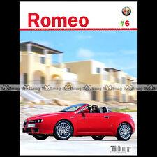 ROMEO N°6/2007 ALFA ROMEO 6C 2500 VILLA D'ESTE 159 SPIDER PIERO LISSONI CHAPATTE