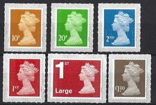 GREAT BRITAIN 2018 6 NEW DEFINITIVES PRINTED BY WALSALL M18L UNMOUNTED MINT, MNH
