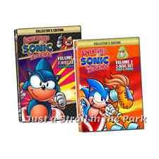 Adventures of Sonic The Hedgehog: TV Series Complete Vols 1 & 2 Box/DVD Set(s)