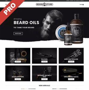 MEN'S BEARD Dropshipping Website Business For Sale - MAKE £30,000+ Per Year