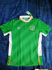 Ireland Umbro Player Issue Soccer Jersey Home 2016 Size M