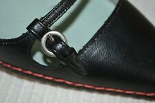SIGERSON MORRISON SHOES Schuhe MULES LEDER 38 UK 5 USA 7 NEU 319€ NEW schwarz