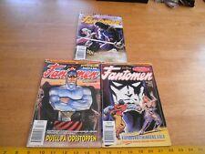 Lee Falk's Phantom 1995 Sweden color comics thick lot of 3 foreign Fantomen