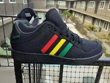 Adidas rasta shoes sz 7 thru 12 reggae Jamaica Bob Marley red gold green