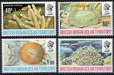 British Indian Ocean Territory QEII 1972 Sea Coral set of 4 mint stamps VLMM